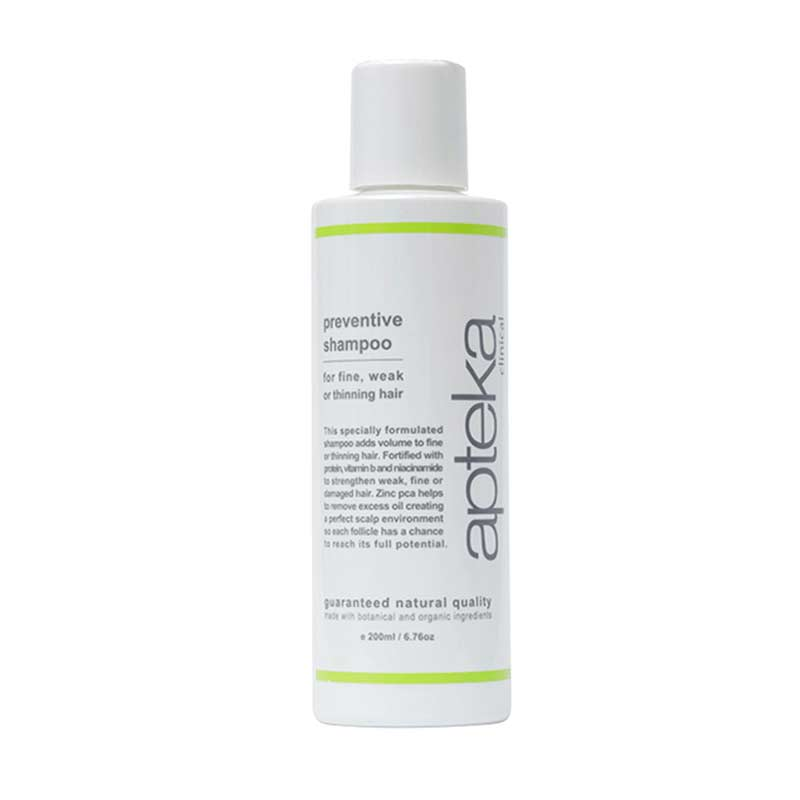 apteka preventative shampoo